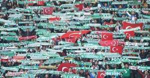 Bursaspor-Amedspor maçında yaşananlar