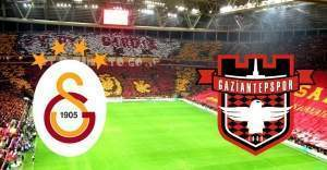 Galatasaray : 3 - Gaziantepspor : 1 maç sonucu
