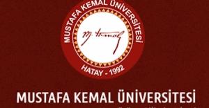 Mustafa Kemal Üniversitesi formasyon ilanı 2016 bahar