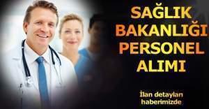 Sağlık Bakanlığı personel alım ilanı yayımlandı