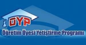 YÖK'ten ÖYP adaylarına sevindiren haber