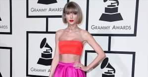 2016 Grammy'ye damga vuran isim Taylor Swift oldu