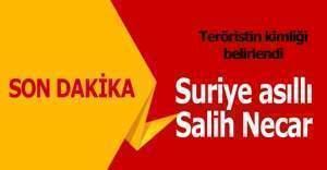 Ankara'daki saldırıda teröristin kimliği belli oldu: Salih Necar