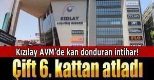 Ankara Kızılay AVM'de intihar vakası, sevgililer canına kıydı, intihar edenlerin görüntüleri