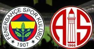 Antalyaspor-Fenerbahçe maç kaç kaç bitti? | Maç özeti
