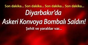 Diyarbakır'da askeri konvoya saldırı: 6 şehit