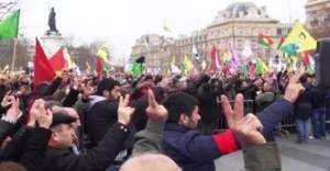Fransa'da PKK'lılardan camiye çirkin saldırı