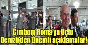 Galatasaray'ın Lazio kadrosu belli oldu, Mustafa Denizli'den önemli açıklamalar