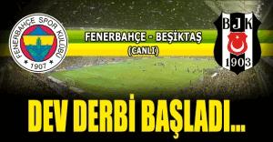 Fenerbahçe Beşiktaş maçı kaç kaç bitti? Kadıköy'de oynanan Fenerbahçe Beşiktaş derbisini kim kazandı? Golleri kim attı?