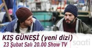 Kış Güneşi dizisi bu akşam Show TV'de başlayacak. Kış Güneşi oyuncuları kimler Kış Güneşi 1. bölüm fragmanı