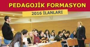 Pedagojik formasyon veren üniversiteler hangileri? Formasyon nedir, YÖK formasyon açıklaması, Pedagojik Formasyon Eğitimi Sertifikası nasıl alınır?