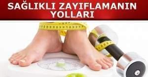 Sağlıklı zayıflamanın yolları nelerdir?