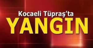 Son Dakika! TÜPRAŞ Kocaeli rafinerisinde korkunç yangın ve işte Tüpraş'ın açıklaması