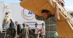 AFAD Suriyelilerin yaralarını sarıyor