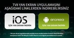 TV8 yan ekran uygulaması nedir? Yan ekran uygulaması ile O Ses Türkiye oy verme