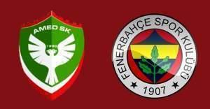 Ziraat Türkiye Kupası Amed Spor Fenerbahçe maçının yeri belli oldu