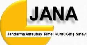 2016 JANA sonuçları açıklandı