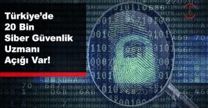 20 bin siber güvenlik uzmanına ihtiyaç var!