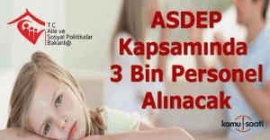 ASDEP kapsamında 3 bin danışman alınacak