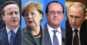 Avrupalı liderlerden Putin'e, 'saldırıları sonlandır'