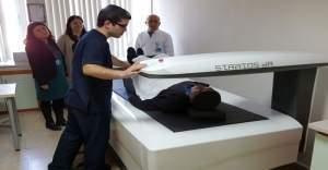 Bergama Devlet Hastanesi kemik erimesini erken teşhis edebilecek