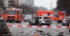 Berlin'de Patlama Son Dakika! Almanya'nın başkenti Berlin'de bombalı yüklü araç patladı - 1 Ölü
