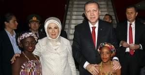 Cumhurbaşkanı Erdoğan'dan Gana ziyareti