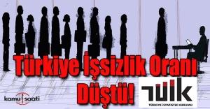 İşte Türkiye'nin işsizlik oranı!
