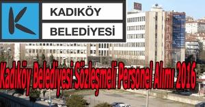 Kadıköy Belediyesi Personel Alımı 2016