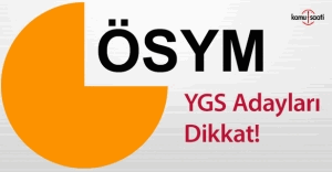 ÖSYM'den YGS ile ilgili flaş açıklama!
