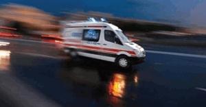 Polis midibüsü devrildi: 18 yaralı