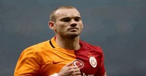 Wesley Sneijder'den men cezası ve transfer açıklaması