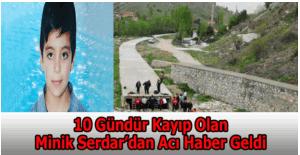 Ankara'da kaybolan minik Serdar Kandemir ölü bulundu