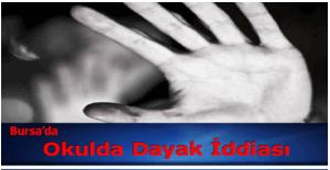 Bursa Necmettin Erbakan İmam Hatip Ortaokulu'nda dayak iddiası