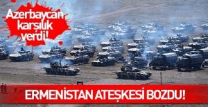 Ermenistan Ateşkesi Bozdu: Nahçıvan'a Ateş Açtı