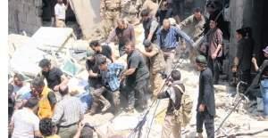 Esed Halep'i vurdu: 11 ölü, 35 yaralı