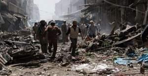 İdlib'te pazar yerine saldırı: 33 ölü, 47 yaralı