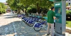 İstanbul'da, 'akıllı bisiklet' projesinin Florya-Yeşilköy hattı açıldı