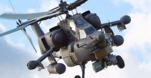Rus helikopteri Humus'ta düştü!