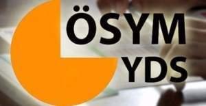 YDS soruları erişime açıldı