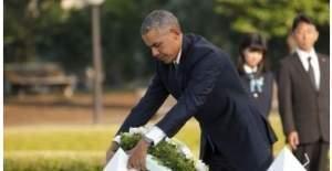 Barack Obama bir ilki gerçekleştirerek Hiroşima'ya gitti