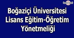 Boğaziçi Üniversitesi Lisans Eğitim-Öğretim Yönetmeliği