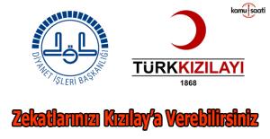 Diyanet'ten açıklama: Kızılay'a zekat verilebilir