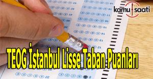 İstanbul Lise Taban Puanları 2016 - TEOG il ve İlçeler taban puanları
