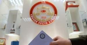 Seçmen kütüklerini alacak partiler YSK kararıyla belli oldu