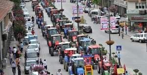 Bursa İnegöl'de çiftçiler demokrasiye sahip çıktı