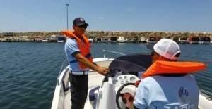 Deniz zabıtaları göreve başladı