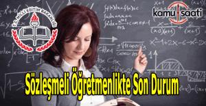 Sözleşmeli Öğretmenlik ne zaman meclisten geçecek? Ağustos'ta öğretmen ataması olacak mı?