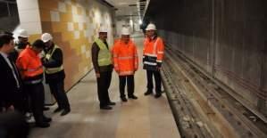 Ankara Keçiören metrosunun test sürüşü için Başbakan bekleniyor