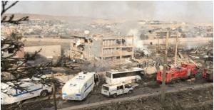 Cizre'de bombalı saldırı: 11 şehit, 78 yaralı
